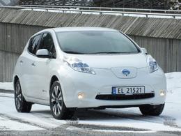 Les ventes de Nissan Leaf toujours en forte progression en Europe