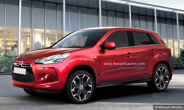 Design : Citroën C3-Crosser par Theophilus Chin