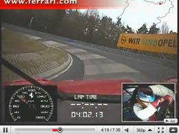 La Ferrari 599XX bat le record du Nürburgring ! [Vidéo]