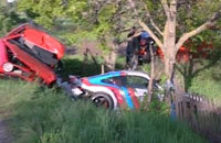 Accident mortel sur le Gumball 3000