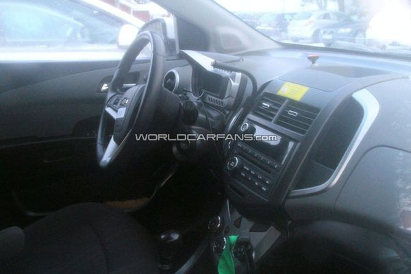 Bienvenue à bord de la future Chevrolet Aveo