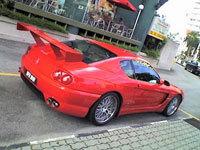 La saucisse du Vendredi, le retour: Ferrari pelle à tarte