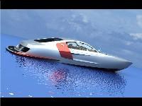 L'Audi R8 se prend pour un bateau!