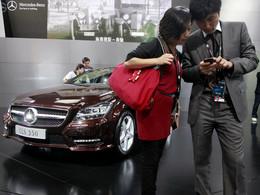 Mercedes met le paquet en Chine