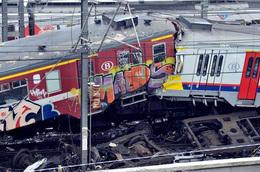 Une catastrophe ferroviaire survenue ce matin en Belgique