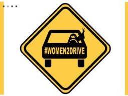 Pour l'Arabie Saoudite la femme qui conduit est un danger pour la cohésion sociale
