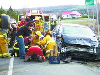 Canada : le soleil cause un accident et fait six blessés