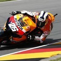 Moto GP - Allemagne: Dani Pedrosa n'a pas joué petit bras