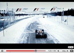 [vidéo] : Le Canada est de retour en F1 : Buemi s'entraine déjà ... sur la glace
