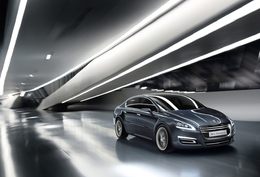Salon de Genève 2010 : le concept 5 by Peugeot hybride