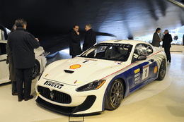 Présentation du nouveau Maserati Trofeo