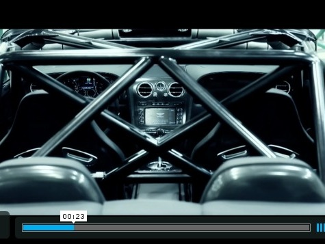 Bentley Ice Speed Record : le film officiel par Al Clark