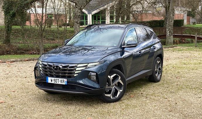 Hyundai Tucson (2021) : les premières images de l'essai + premières impressions de conduite.