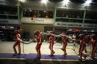 GP de Singapour: Ferrari et les ravitaillements !