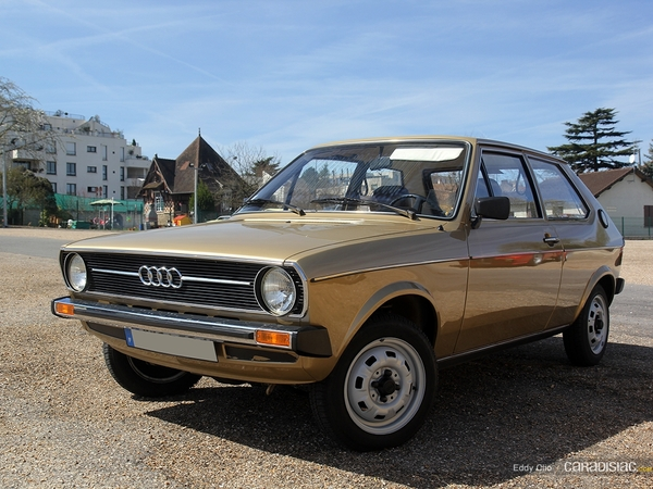 Photos du jour : Audi 50 GL (Cars & Coffee Paris)