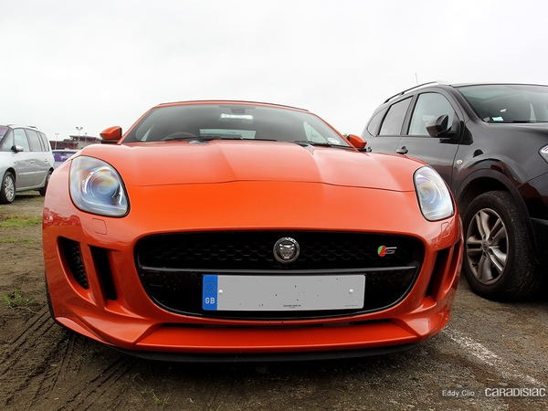 Photos du jour : Jaguar F-Type (Le Mans)