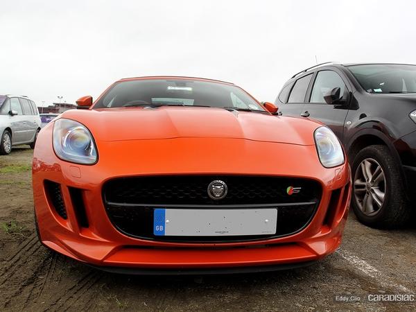Photos du jour : Jaguar F-Type (Le Mans)