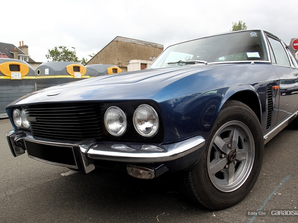 Photos du jour : Jensen Interceptor 2 (Le Mans)