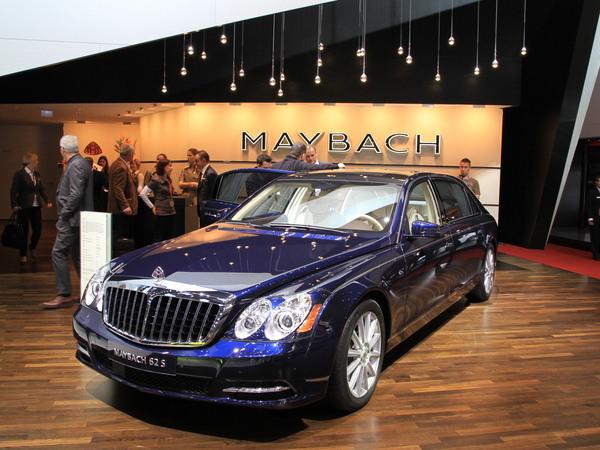 Genève 2011 Live : Maybach se refait une ... beauté ?
