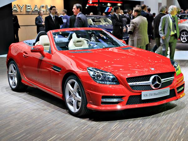 Genève 2011 en direct : le nouveau Mercedes SLK et la SLS E-Cell