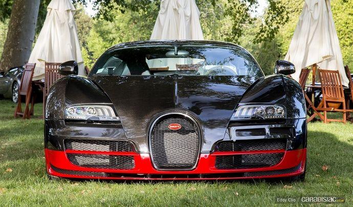 Photos du jour : Bugatti Veyron Supersport (Concours d'Elegance de Chantilly)