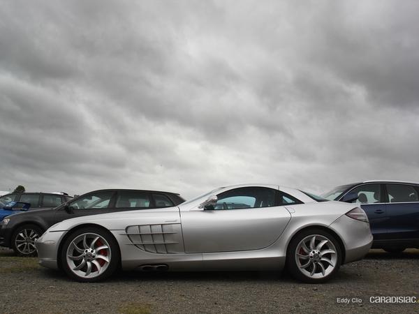 Photos du jour : Mercedes SLR (Le Mans)
