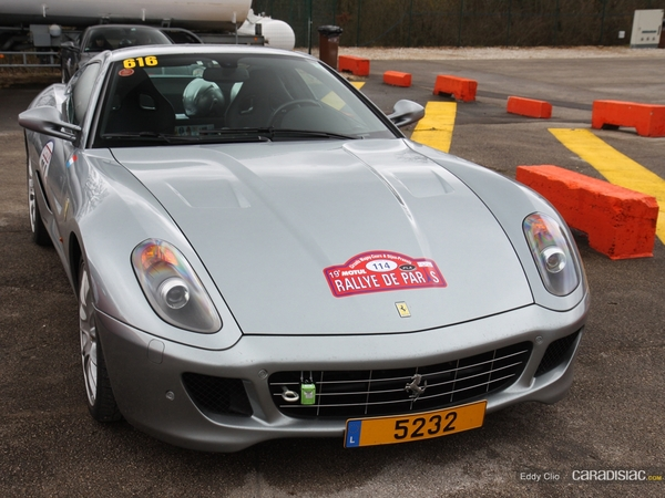 Photos du jour : Ferrari 599 GTB Fiorano (Rallye de Paris)