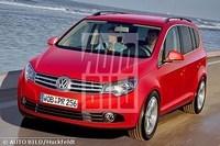 Futurs Sharan et Touran / Début d'un nouveau style VW ?