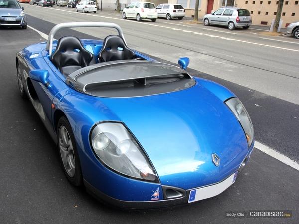 Photos du jour : Spider Renault
