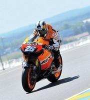 Moto GP - France D.3: Pedrosa a été trop gourmand