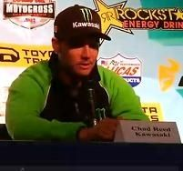 Motocross US - Hangtown : Chad Reed déjà en tête du championnat