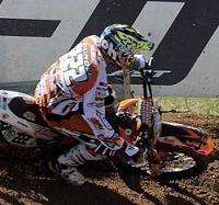 Motocross mondial : GP de Lettonie MX 1, Antonio Cairoli l'emporte devant Steven Frossard