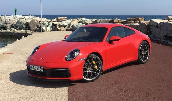 Porsche 911 (2019) : les premières images de l'essai + impressions de conduite