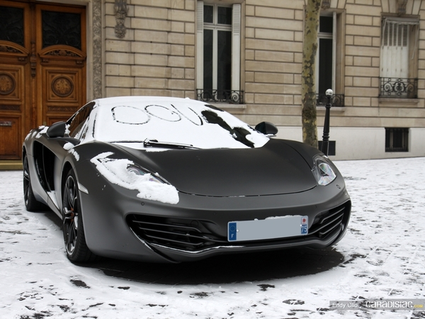 Photos du jour : McLaren MP4-12C