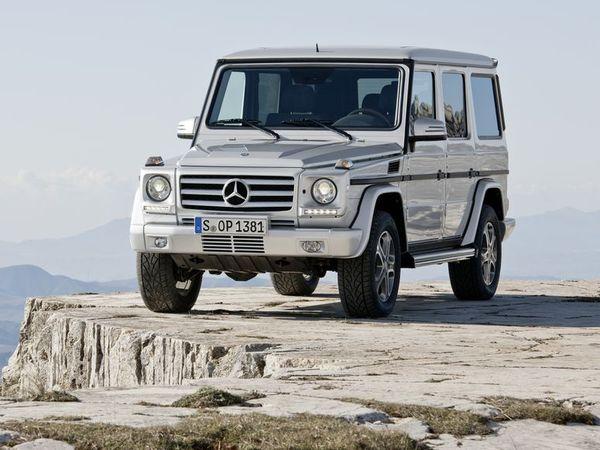 Pékin 2012 : le Mercedes Classe G en reprend une dose