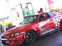 Nissan Skyline V8..  ça a l'air de tourner pas mal..