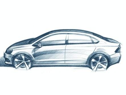 Volkswagen Polo quatre portes : elle s'appellera Vento