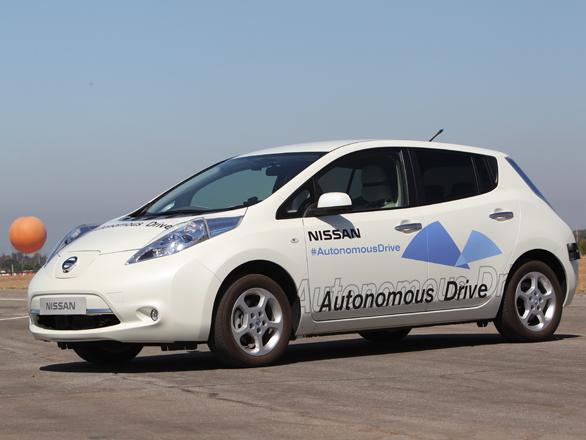 Nissan se lance dans la voiture 100% autonome