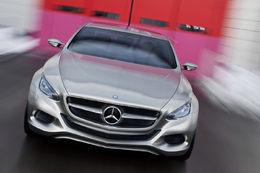 Salon de Genève 2010 : le nouveau Concept hybride Mercedes F800 Style