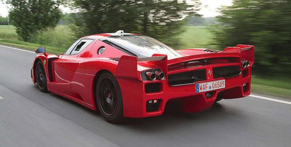 Edo Compétition immatricule une Ferrari FXX !