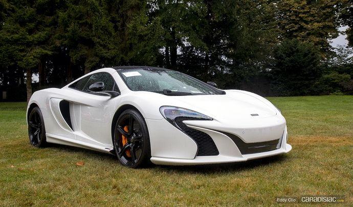 Photos du jour : McLaren 650S (Concours d'Elegance de Chantilly)