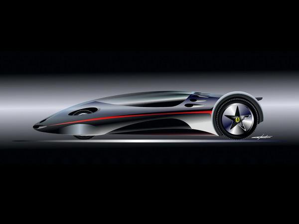Paolo Martin revisite la mythique Ferrari Modulo: Pour la beauté du geste