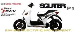 Un nouveau scooter électrique dévoilé par Quantya : le Squter P1