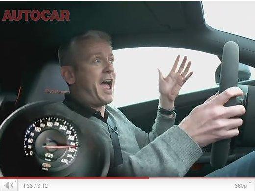 [vidéo] Test Bugatti Veyron Super Sport : 340 km/h, d'une seule main