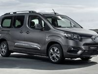 Toyota ProAce City Verso, jumeau de Berlingo