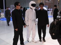 Pékin 2010 : ils ont cloné le Stig !