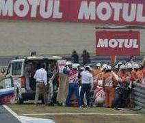 MotoGP : état critique mais stable pour Alex De Angelis
