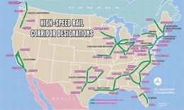 Un groupe de travail sur le projet de 2 lignes de TGV : Montréal/New York, Montréal/Boston