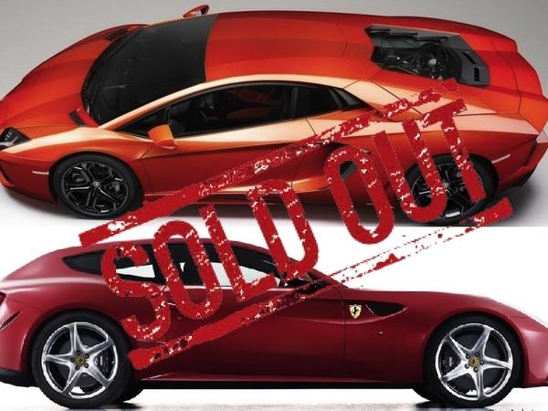 Ferrari FF et Lamborghini Aventador : première année de production sold out