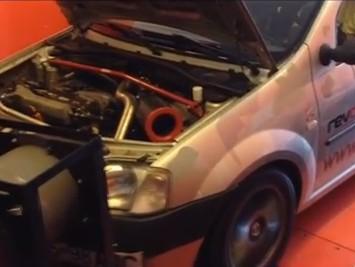 Vidéo : une Dacia Logan de 260 chevaux !